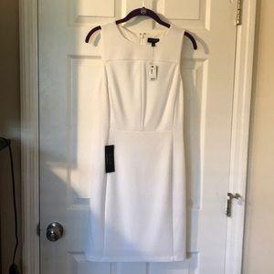 The Limited White Sheath Dress